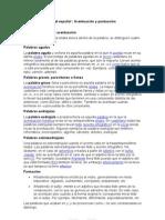 Tema 5 Ortografía del español acentuacion y puntuacion