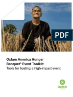 Oxfam America Hunger Banquet® Event Toolkit
