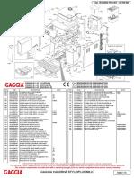 Gaggia Cadorna Milk Parts Diagram