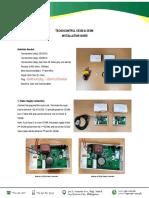SE 330 & SE396 Installation Guide