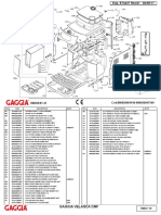 Gaggia Velasca Parts Diagram