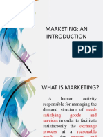 Marketing - Introduction
