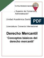 Conceptos basicos del derecho mercantil