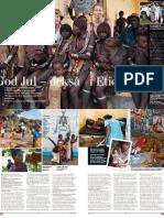 M magasin med UNICEF i Etiopien