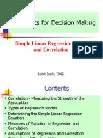 Regression and correlation (1)