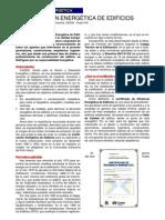Certificacion Energetica Pais Vasco 2005