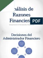 Unidad III Razones financieras