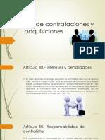 Ley de contrataciones y adquisiciones