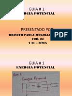 GUIA 1 ENERGIA POTENCIAL