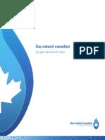 Le gaz naturel et l'eau