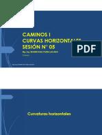5. DISEÑO DE CURVAS HORIZONTALES