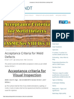 Acceptance Criteria for Weld Defects _ welding & NDT