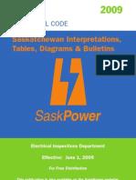 2009_sk_electrical_code_amendments