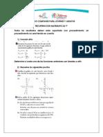 9 Recuperacion Matematicas 2020 A