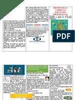 folleto presupuestos
