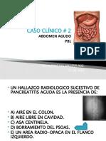2. abdomen agudo...