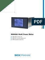 MAIHAK Shaft Power Meter MDS 840 Manual  V1-1