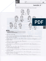 Leccion 3 lab and workbook