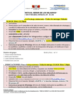 EA 04 SEMANA  29 - 4° EDUC RELIGIOSA - SEÑOR DE LOS MILAGROS