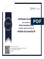 Analista de Proyectos BI