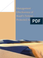 WWF and MMA, 2007 - Management Effectiveness of Brazil`s Federal Protected Areas