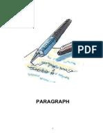 PARAGRAPH-Teacher's Copy