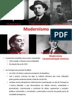 Modernismo contextualizaçao