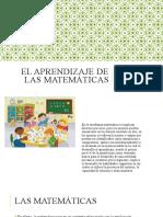 El aprendizaje de las matemáticas.pptx