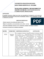 PROYECTO DE PRÁCTICA EDUCATIVA INCLUSIVA- MARIAMARLENY PINEDA MONTOYA