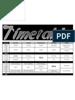 Timetable 11