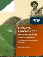 eduardo medeiros livro sobre os animais e a caça