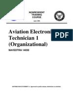 NAVEDTRA 14030 - Aviation Electronics Technician 1 (Organizational)