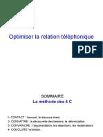 Optimiser la relation téléphonique - 2010