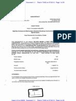 KELLOGG BROWN & ROOT SERVICES, INC v WESTCHESTER FIRE INSURANCE Complaint Exhibit1pt1