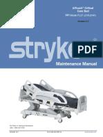 Manual de Servicio Cama de UCI Stryker InTouch Critical Care (Inglés).pdf