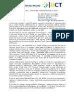 Articulo 3 Wilber-Importancia de la educación tecnológica en el Perú