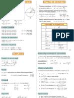 resume-Maths terminale et premiere
