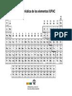 Tabla Periódica IUPAC