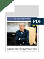Dr Juan Andrade, Jr. - Why Wont Trump Concede