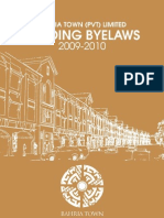 Bahria Building by Laws