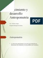Crecimiento y desarrollo antropometria.ppt