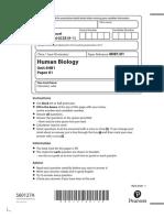 Human Biology 1HB - Specimen paper (3)