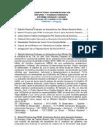 Informe Uruguay 39-2020