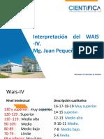 INterpretación del WAIS IV