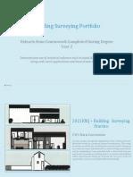 Building Surveying Portfolio - Degree Year 2