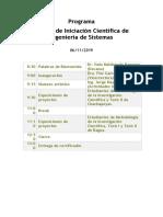 Programa II Feria