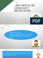 11° clase virtual de lenguaje5°