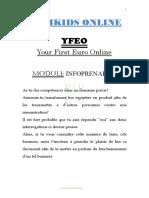 Module Infoprenariat (YFEO) [RICHKIDS ONLINE]..
