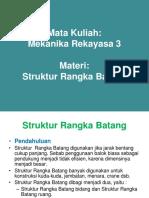 MER 3 -- Struktur Rangka Batang