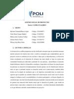 GESTION SOCIAL DE PROYECTOS PRIMERA ENTREGA